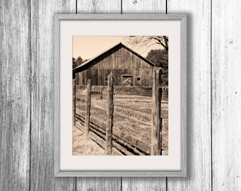 Personalized Barn Art, Rustic Wall Decor, Country Home Decor, Custom Couples Gift, Unique Wedding Gifts, Husband Gift, Gift for Parents