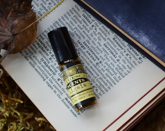LIGEIA Perfume Oil - Amber, Opium, Sandalwood, Saffron, and More - Available in 3 Sizes