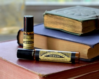 H.P. LOVECRAFT Perfume Oil (Available in Four Sizes)