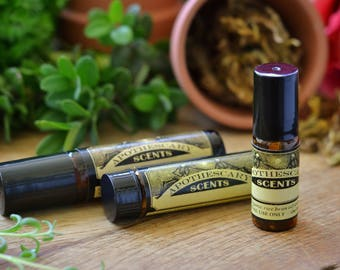 WOLFSBANE Perfume Oil - Cedar, Bergamot, Coriander, and More - Available in 3 Sizes