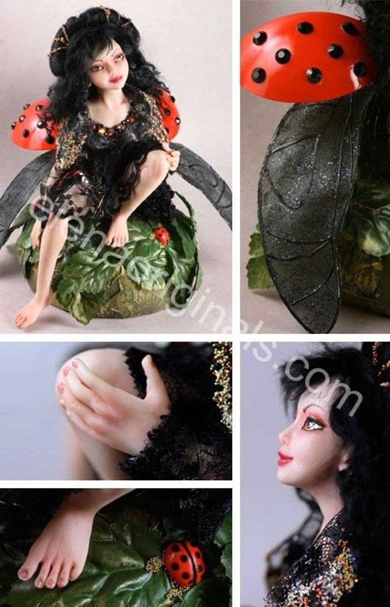 Doll Making Tutorial PDF How to Sculpt a Fairy Doll in polymer clay PDF tutorial instant Download