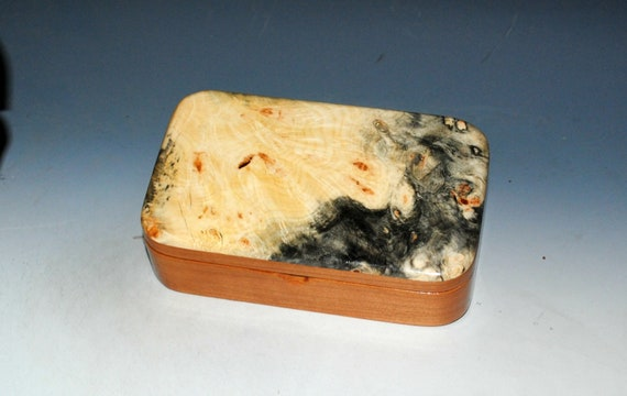 Special listing for Nancye - Treasure Box of Cherry with Buckeye Burl - Please do not click unless your are Nancye
