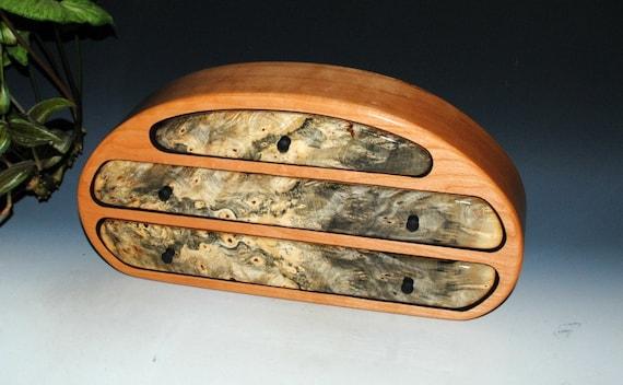Wood Jewelry Box - Buckeye Burl on Cherry- Handmade Jewelry Box - Jewelry Boxes-Wood Gift-Jewelry Box-Wooden Jewelry Box, Wooden Storage Box