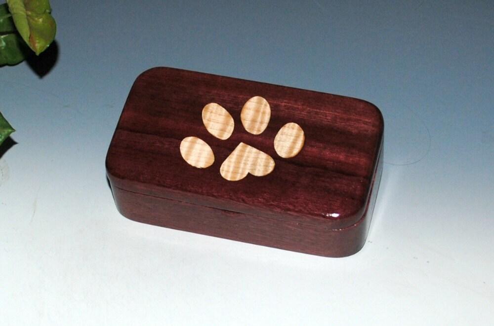Wooden paw box