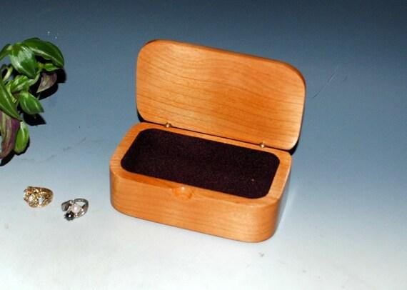 Libellule gravée aulne bibelot en bois fait à la main boîte de