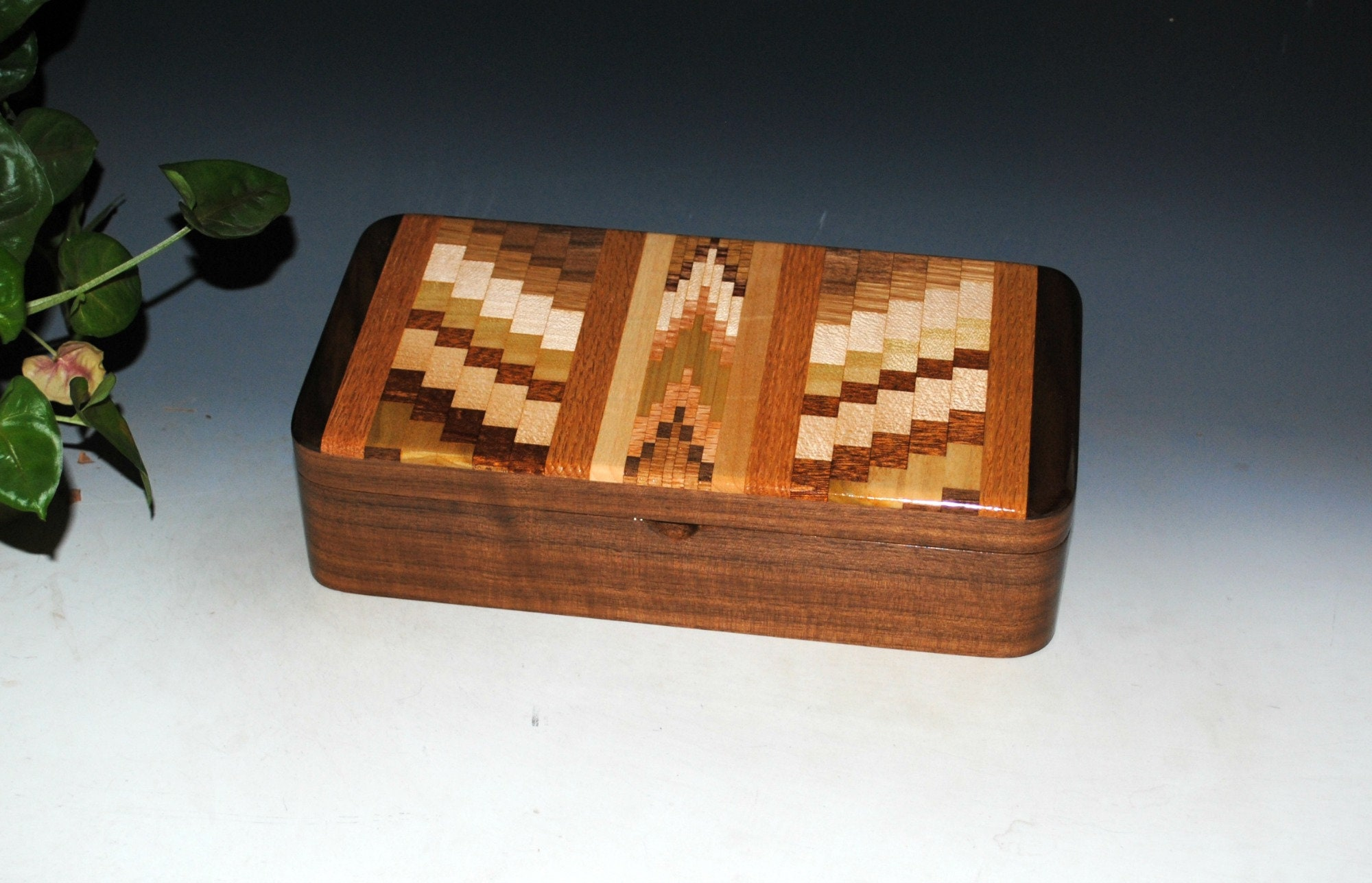 Handmade Wooden Box With Tray- UpCycled Cutting Board and ...
