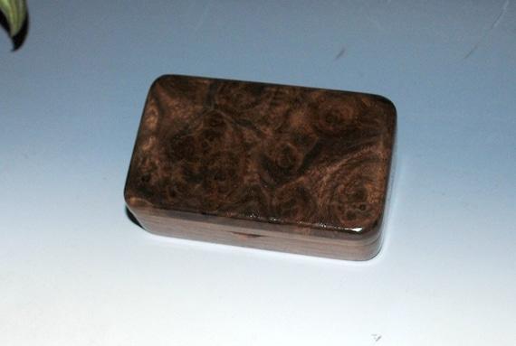 Small Wooden Box of Walnut With Claro Walnut - Handmade Box, Jewelry Box, Keepsake Box - Small Wood Box - Gift Box - Presentation Box