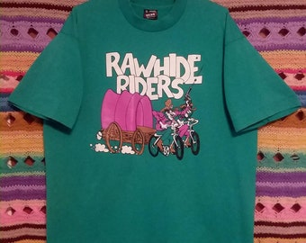 Rawhide cowboy 90s t-shirt