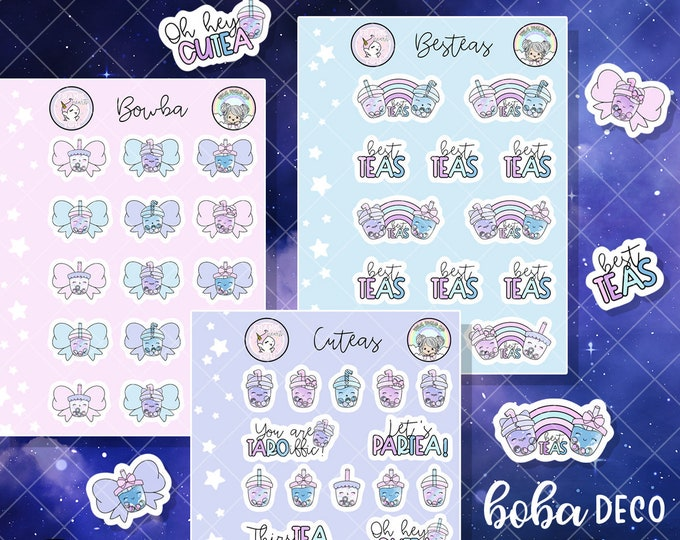 Boba Deco - Micro Sticker Sheets