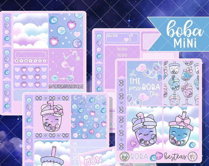 Constellation Boba - Mini Sticker Kit