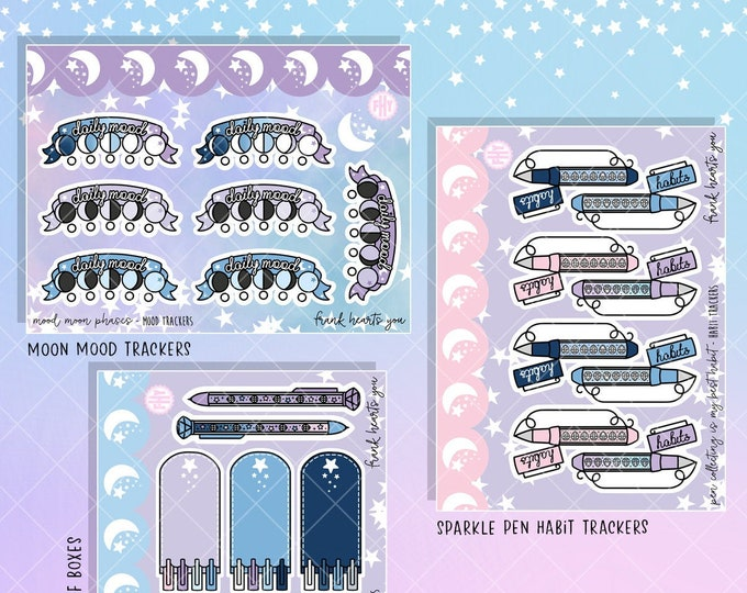 Moonlight Color Pathway - Micro Basics Sticker Sheets