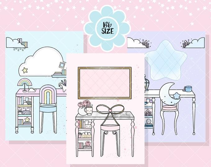 B6 Size - Dream Desk Sticker Kits - Full Cover
