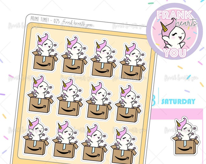 Prime Time! - Sprinkles Mail Time Unboxing Planner Stickers - 025