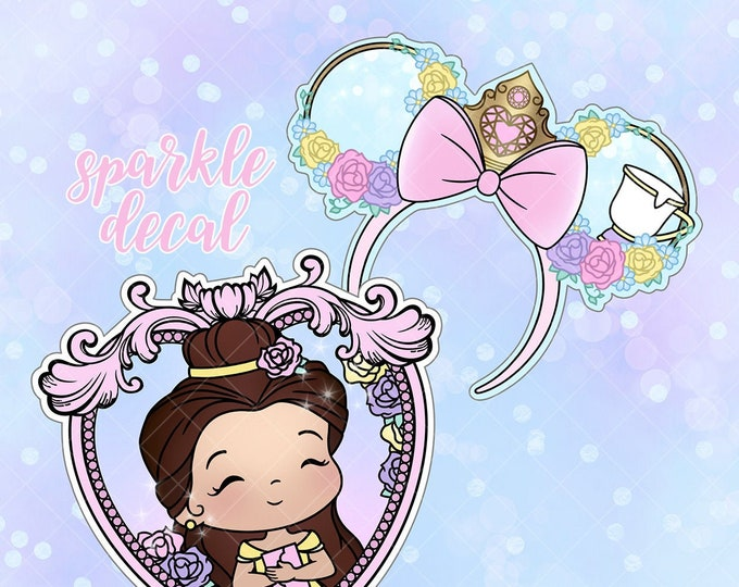 Belle - Sparkle Overlay Decal