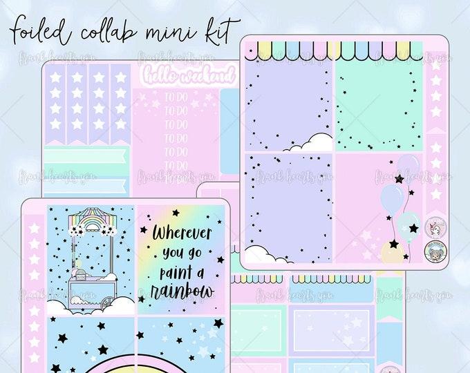 Collab FOIL - Rainbow EC Mini Sticker Kit