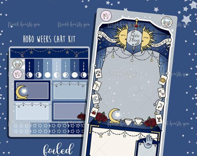 Future Plans Tarot Card Cart - Hobo Weeks Sticker Kit - Collab FOIL