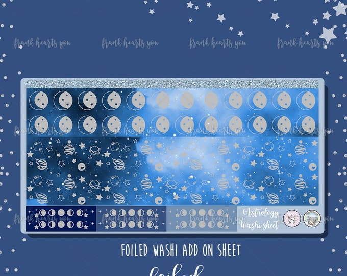 Astrology Foiled Washi Strips - Add-On Sheet Collab