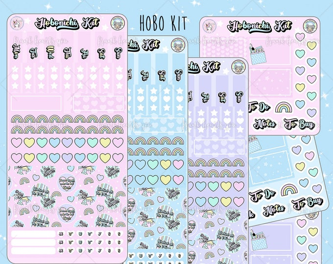 Sticker Collector Collab - Hobo Weeks Sticker Kit