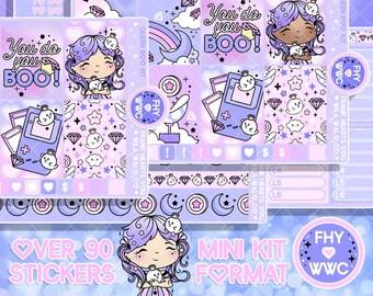 NEW! Queen Boo - Planner Sticker Mini Kit - 4 Sheets