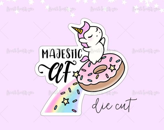 Majestic AF - Non-Adhesive Die Cut
