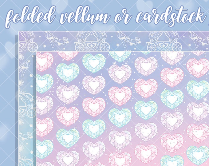 Princess Papers - Select Vellum or Cardstock