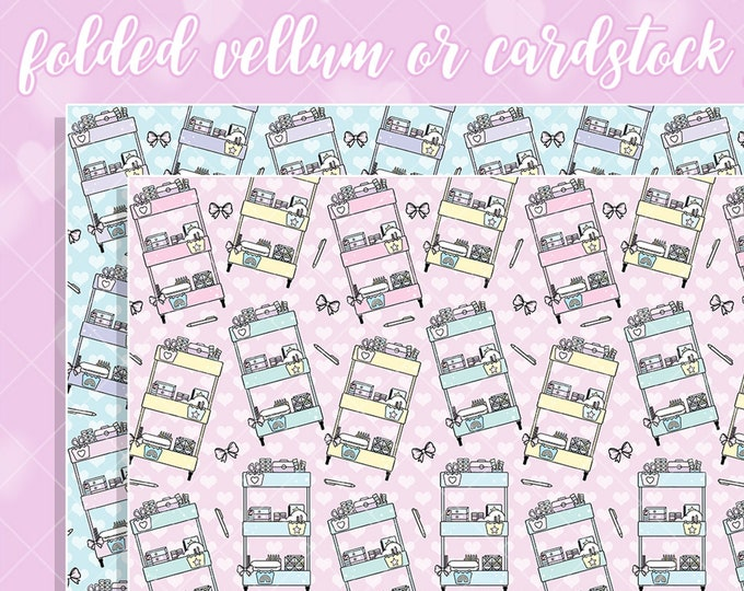 Craft Cart Papers - Select Vellum or Cardstock