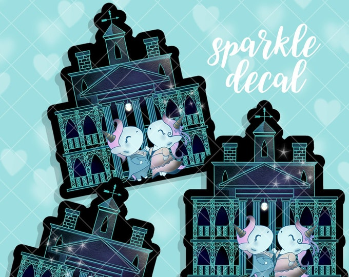 The Waltzing Dead - Sparkle Overlay Decal - Not Waterproof!