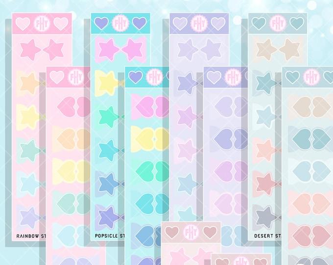 Cutie Organizing Tabs - FHY Basics Planner Stickers