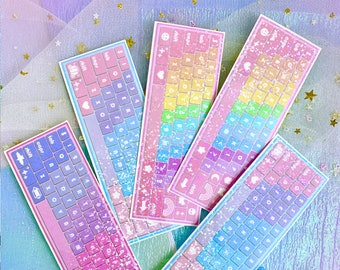 NEW! Keyboards - Sparkle Overlay Decals - Not Waterproof! - Pick Your Design!