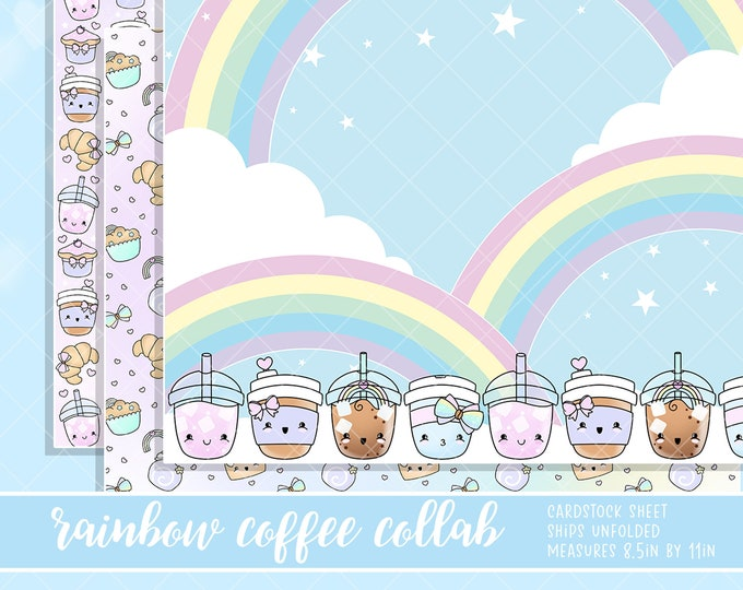 Rainbow Coffee - 3 Pack - Or Per Sheet