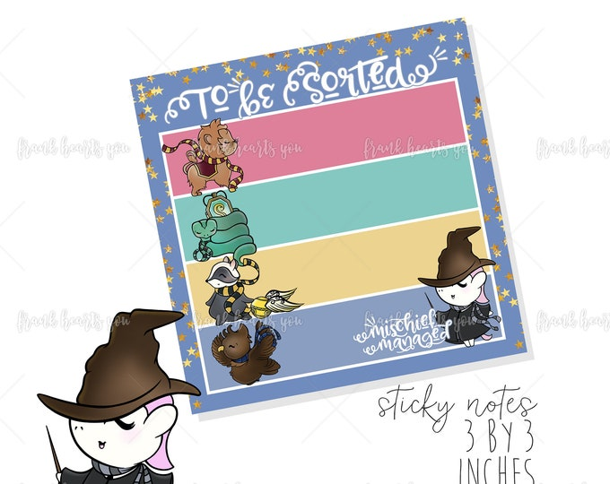To Be Sorted! - Sticky Note Pad