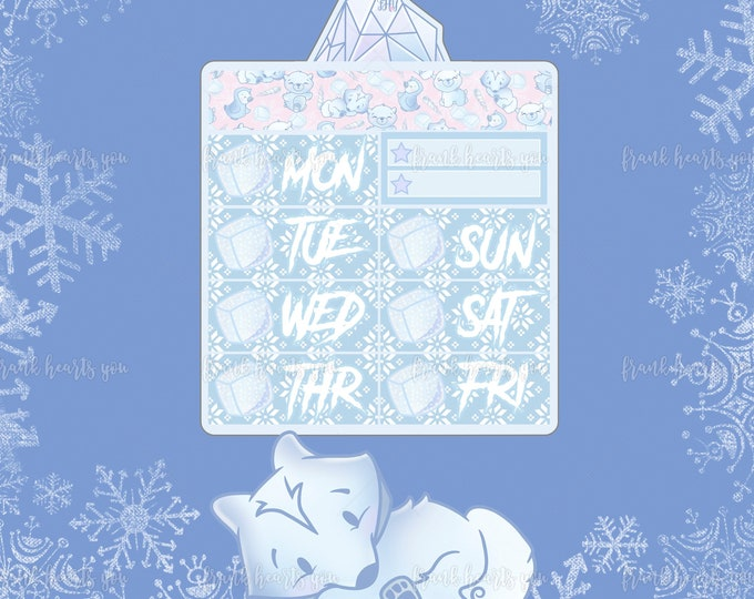 Ice Ice Baby - Date Covers - Add On Mini Sheet