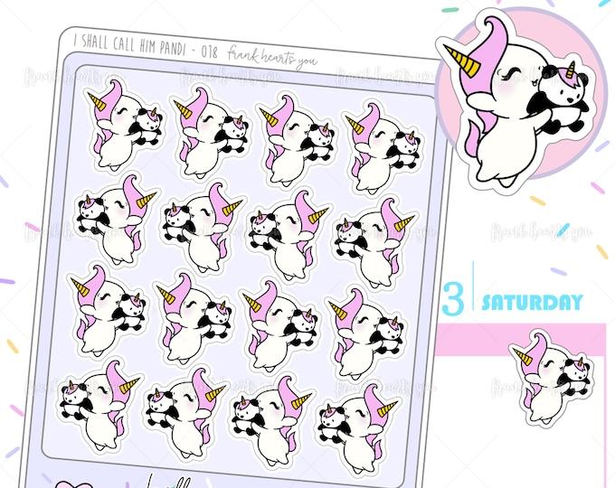 I Shall Call Him Pandi - Sprinkles Panda Planner Stickers - 018