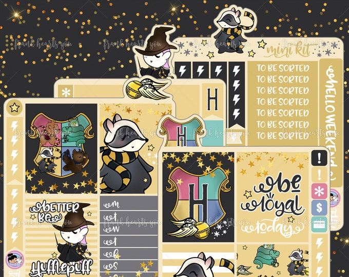 All Sorted Mini Kit - BE LOYAL - 4 Sheets