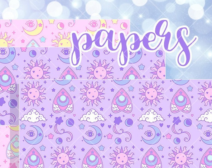Spirit Papers - SOLD PER SHEET or Duo