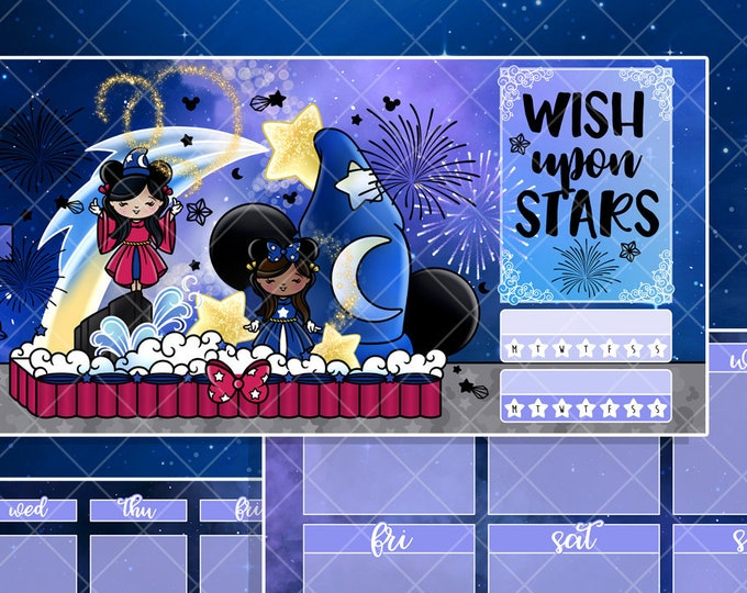 Wish Upon Stars Parade Float - Hobo/PP Weeks Full Cover Kit - Foiled - Pick Your Layout!