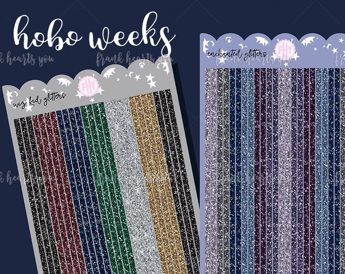 New Colors! Hobo Weeks - BASICS - Sold Per Sheet