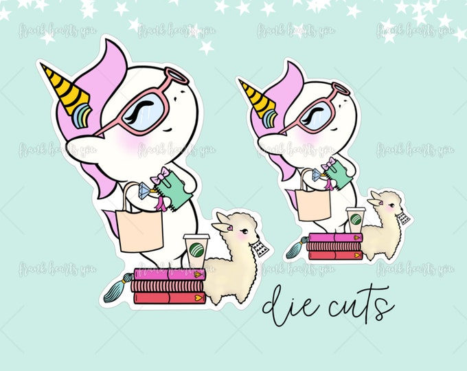 Plan to Be a Unicorn - Non-Adhesive Die Cuts