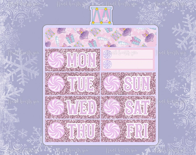 Nutcracker - Date Covers - Add On Mini Sheet