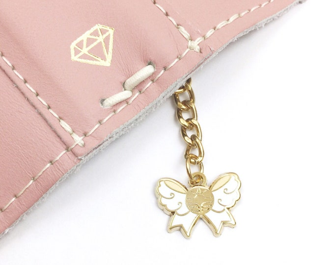 LAST STOCK - Snitch Bow Charm - Gold Metal 3/4""