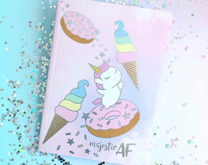 MAF Sprinkles Lined Notebook - 5 by 7 Inches