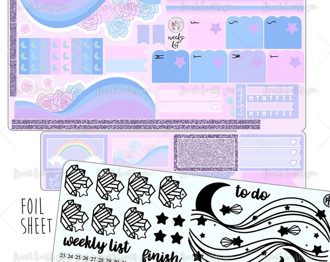 Hobo Weeks - Moon Rose FOIL Kit
