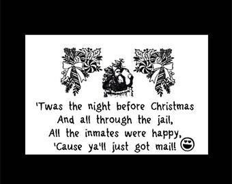 Prison Humor Card Etsy