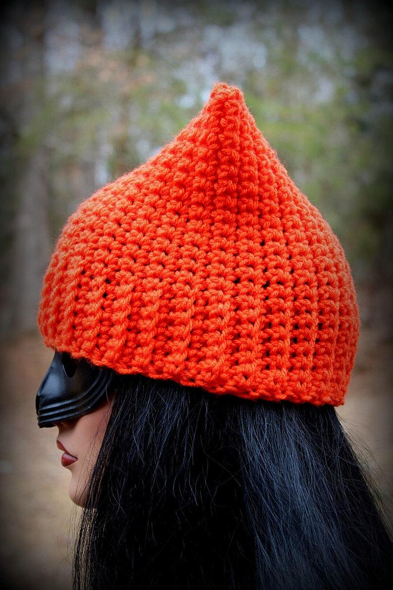 299fdd097c283 Orange Cat Hat Orange Beanie Womens Cat Hat Cat Ears Hat