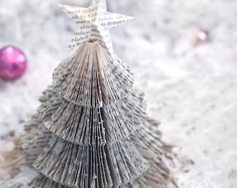 vintage paper Christmas tree-Christmas photography - winter decor-holiday photo - Original fine art photography prints - FREE Shipping