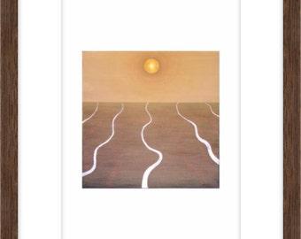 Water In A Desert Print