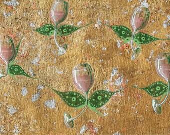 Original Artwork - A Rosé Summer's Day