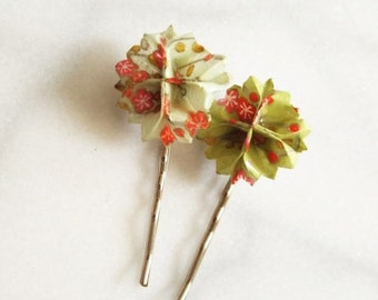 CLEARANCE SALE Blooming Barrette Set