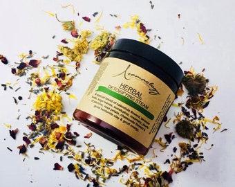 HERBAL STEAM - Organic Facial Steam - Bath Tea - Facial Detox Herbs - Floral Bath Soak - Organic Herbal Steam