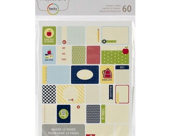 Project Life GIRL Themed Cards 60 cards Journaling Planner Becky Higgins